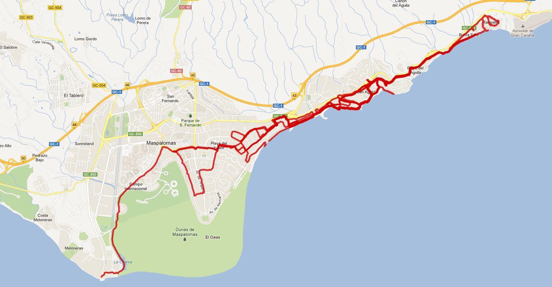 100 km Gran Canaria