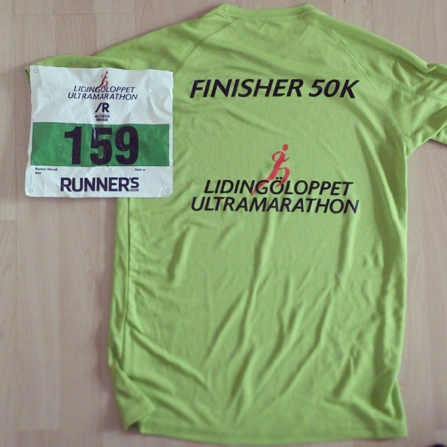 Finisher 50 k