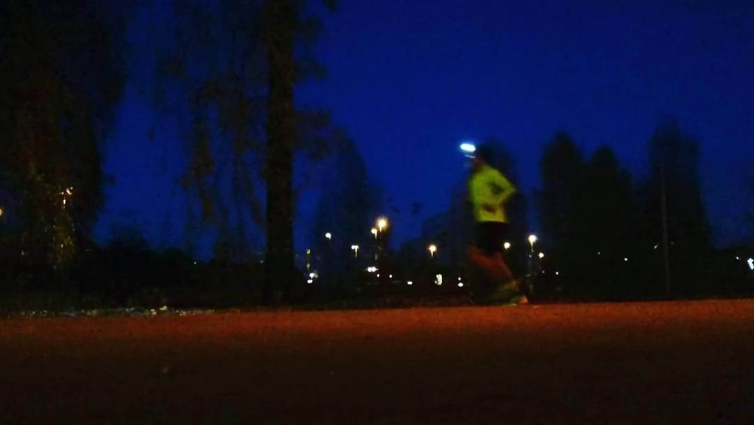 dark trail runners
